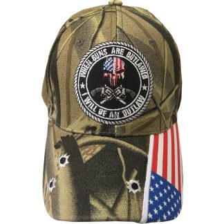 buy camo punisher guns outlawed cap