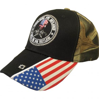 guns hat black camo
