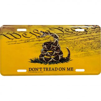 gadsden we the people dont tread on me license plate