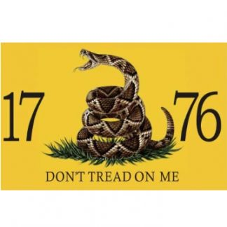 buy 1776 live snake don't tread on me flag