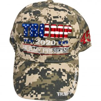 Buy Trump Hat Camo digi-camo