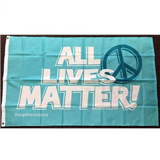 buy all lives matter flag peace symbol teal