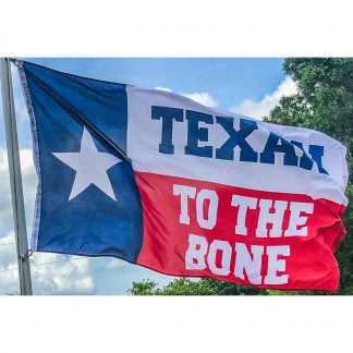 buy TX to the bone flag