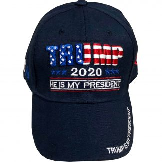 nuy trump cap in navy