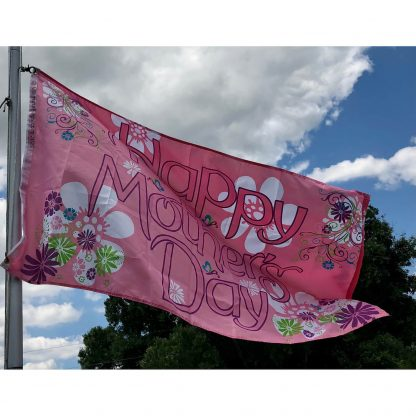 happy mothers day flag