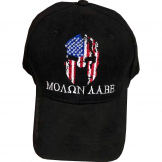 buy molon labe cap black shattered effect on helmet very cool