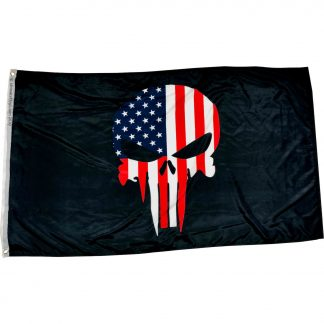 buy punisher flag black 3x5 ft