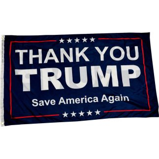 buy thank you trump flag
