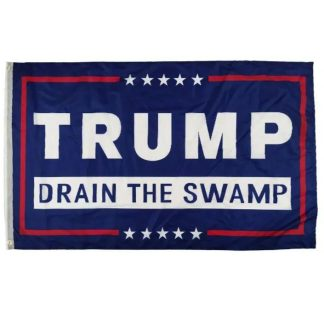 buy trump drain the swamp flag in double sided