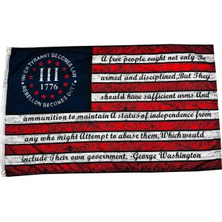 buy 2A when tyranny becomes law flags