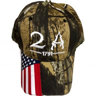 2a 1791 camo cap for sale adjustable back beautiful usa flag on bill