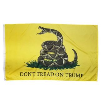 dont tread on trump flag for sale yellow snake trump flags