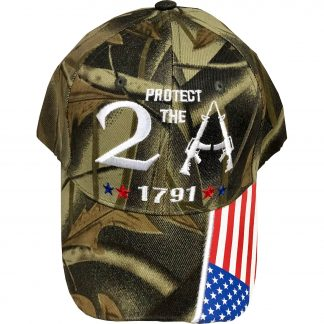 protect the 2A camo cap for sale