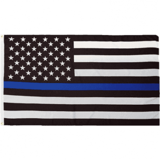 buy police thin blue line flag law enforcement memorial flag