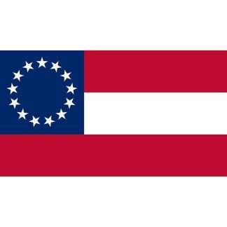 1st national confederate flag of the confederate states of america