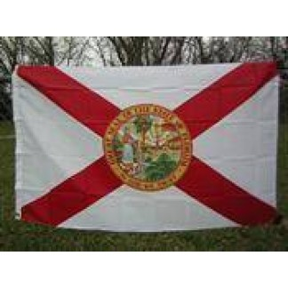 florida flag nylon printed