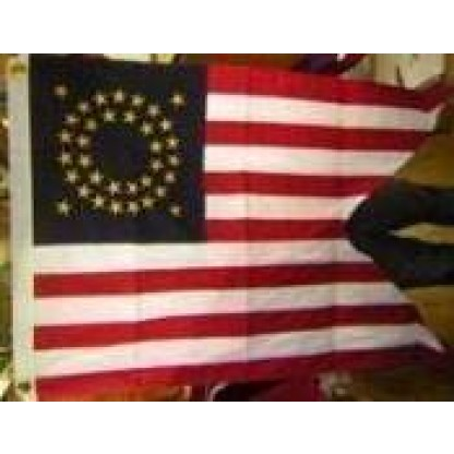 union cavalry flag cotton 3 x 5 pennant