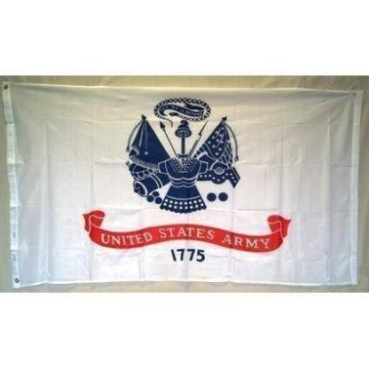 us army emblem flag
