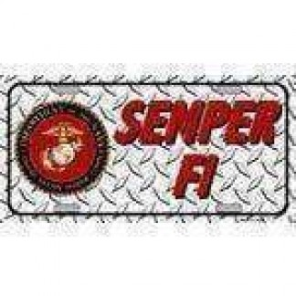 us marine corps license plate for sale
